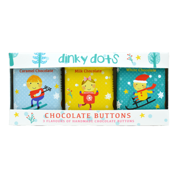 Christmas Chocolate Buttons Dinky Dots Pack