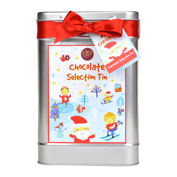 Christmas Chocolate Selection Tin