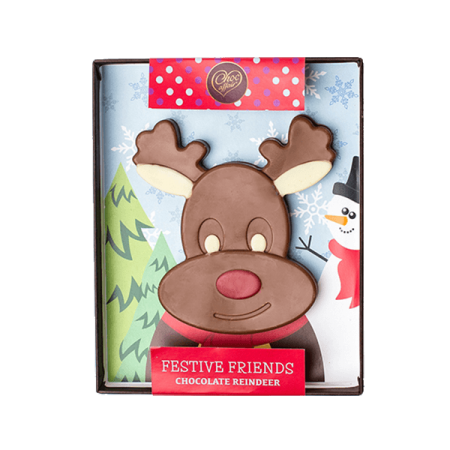 Christmas Milk Chocolate Reindeer