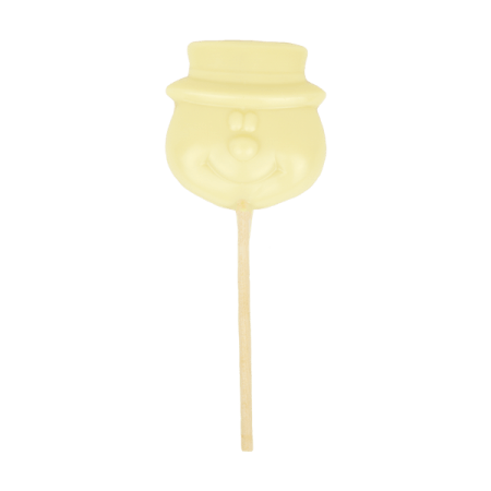 Christmas White Chocolate Snowman Lolly