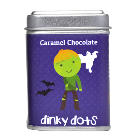 Halloween Dinky Dots - Caramel Chocolate