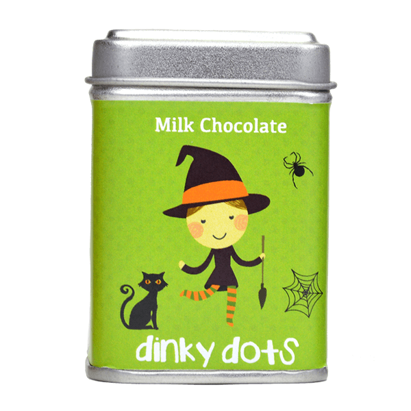Halloween Dinky Dots - Milk Chocolate