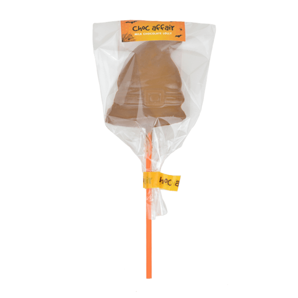 Halloween Milk Chocolate Witches Hat Lolly