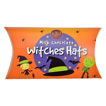 Milk Chocolate Witches Hats Pillow Pack