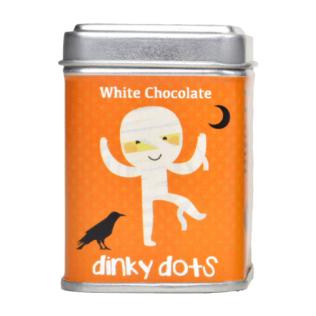 Halloween Dinky Dots - White Chocolate