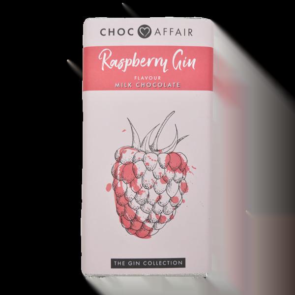 raspberry gin milk chocolate