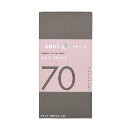 70% Sao Tome Dark Chocolate Bar