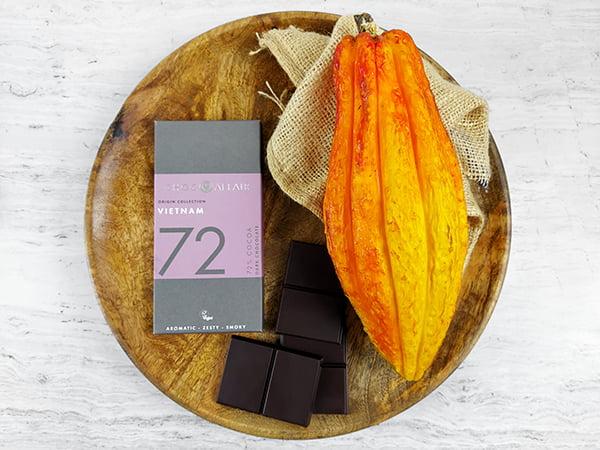 72% Vietnam Single Origin Dark Chocolate