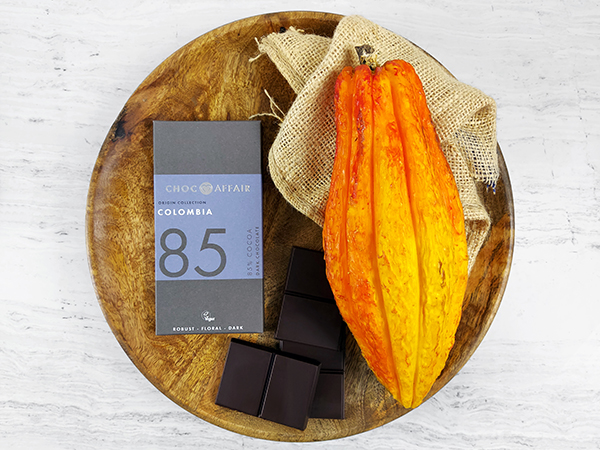 85% Colombian Dark Single Origin Chocolate Bar