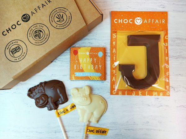 Children's Chocolate Birthday Gift