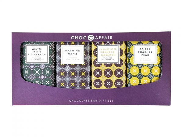Winter Collection Chocolate Bar Gift Set