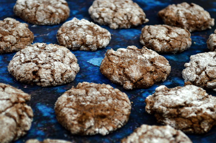 Chocolate Crinkle Cookies small