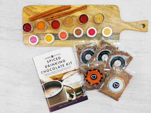 Spiced Drinking Chocolate Kit product image