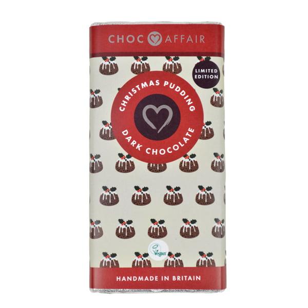 Christmas Pudding Flavour Dark Chocolate