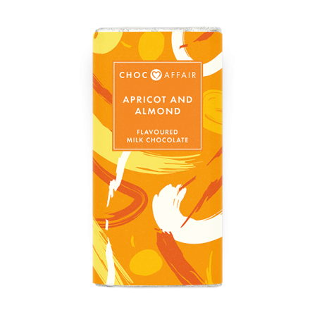 Apricot and Almond Milk Chocolate Bar Product Image