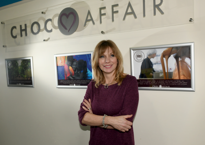 Linda Barrie, Founder of Choc Affair based in York, North Yorkshire
