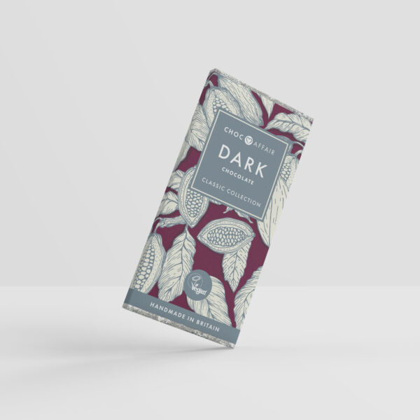 Vegan registered dark chocolate bar - Classic collection