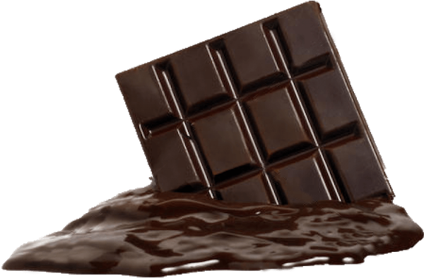 Dark chocolate melting